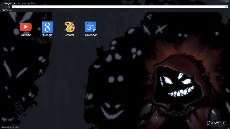 Google Chrome Theme Friends Forever