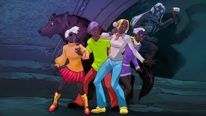 Fen Wolves Scooby Doo col